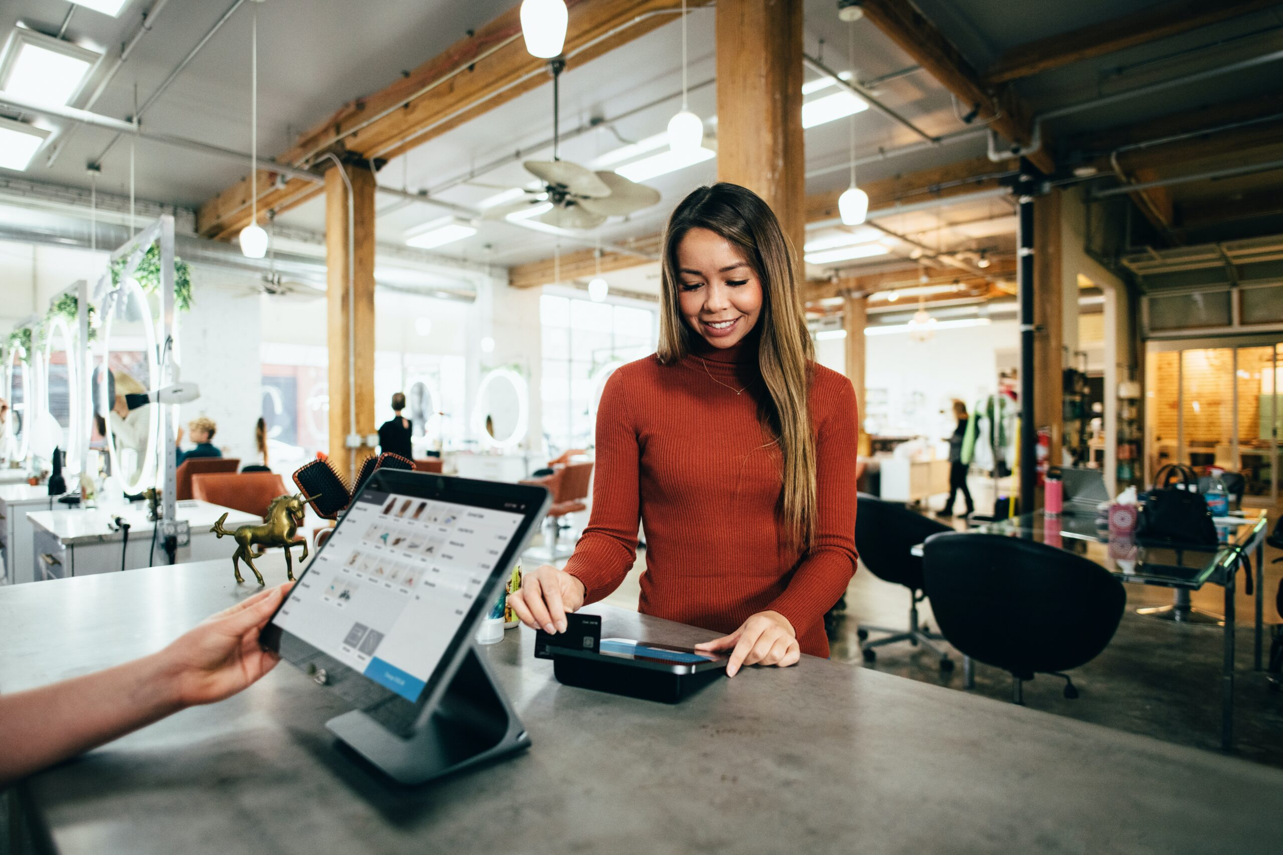 Technology's role in attracting customers back to the high street