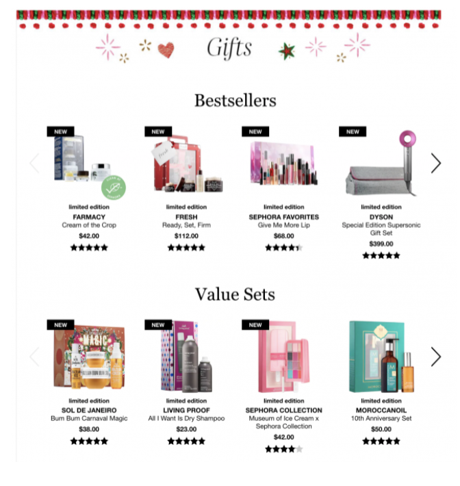 How to create a holiday gift guide